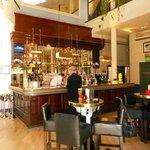 Inside Browns Restaurant in Bath
