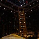 Luces de Navidad del Lobby Noche