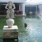 Bassins et statues