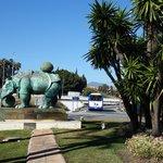 Marbella, Salvador Dali, Rinoceronte vestido con puntillas