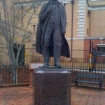 statue of Andrew Johnson