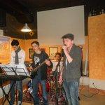 Cena e concerto dei Look Like Strange al TNT pub (22/2/13)