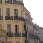 façade de l'hôtel