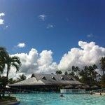 View from the Pool Bahia San Juan