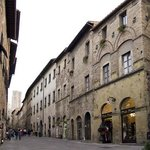 Historical Palace Buonaccorsi in the main street san matteo