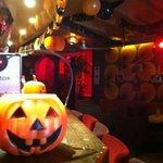 Halloween in Soho, scary fun!!!