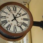 relógio da estação de Jaguariuna