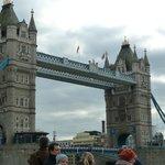 Tower Bridge short stroll down the road.