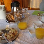 Delicious homemade breakfasts