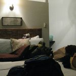 Small, cute rooms with all the needed amenities.