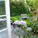 gardenview from breakfast area