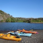 Kayak the river to the ocean.