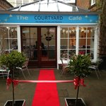 The Courtyard Cafe Entrance