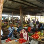 amazing market in Inhambane