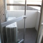 """Private Balcony"" with a/c"
