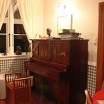 Piano in guest suite