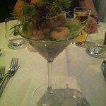 prawn cocktail Martini style.