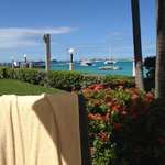 From the Villa Pool area on Simpson Bay