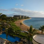 View of Kaanapali Beach from the Sheraton