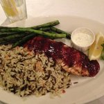 raspberry chipotle salmon