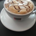 beautiful cappuccino