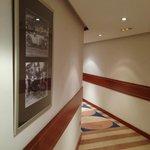 corridor leading to rooms