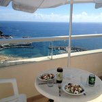 Beautiful view - lunch on the balcony
