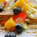 Fresh fruits Crepe
