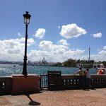 Old San Juan port area