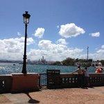Old San Juan port area
