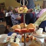 Empress Tea Room high tea