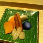 6)Pickled Root vegetables