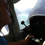 flying into the sound