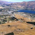 Air view of Wanaka