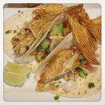 Fish Tacos! ohhhhhh yeah.