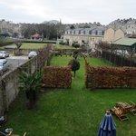 Number 17's back garden