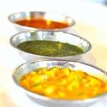 Sardine Masala,Palak & Mix Vegetables