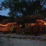 Wonderful bamboo huts