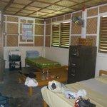 Room inside (4 beds)