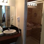 Shower master bath room 5805
