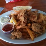Fried Shrimp and Oysters