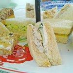Petite sandwich offerings
