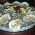 oysters on a half-shell