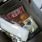 Breakfast box given to us coz our flight was early morning