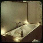 Badekar på værelset