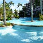 Wonderful pool at Le Parc complex
