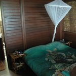 Bedroom in bigger hut