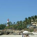 Strand / Aussicht auf den Leuchtturm