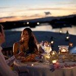 Romantic Dinner Beach Set Up