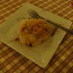 apple and grape pastry dessert